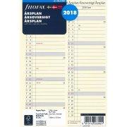 Filofax Refill A5 Årsplan, 2018
