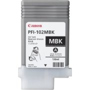 Canon PFI-102MBK blækpatron, sort, 130ml