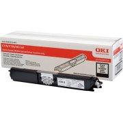 OKI 44250724 lasertoner, sort, 2500s