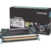 Lexmark X746H1KG lasertoner, sort, 12000 s.