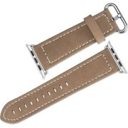 Hoco Læderrem til Apple Watch, 42mm, brun