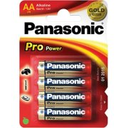 Panasonic str. AA Pro Power Gold batteri, 4stk