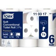 Tork T4 Premium toiletpapir, 3-lags