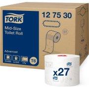 Tork T6 Advanced toiletpapir, 2-lags, 27 ruller