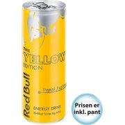 Red Bull Yellow Edition 25 cl inkl. pant
