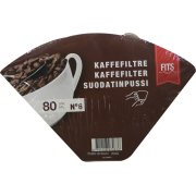 Kaffefilter str. 6, 80 stk