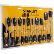 Stanley Skruetrækker Essent 20 stk., Lige-Ph-Pz-Tr