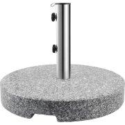 Outfit parasolfod i grå granit, Ø50 cm cm, 40 kg