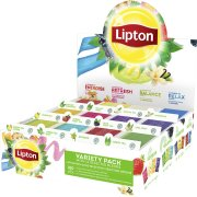 Lipton æske med 12 pk á 15 breve, 180 breve