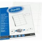 Bantex konferencemærker 55 x 90mm, 10 ark