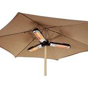 "Terrassevarmer ""TRIO"" t/parasol"