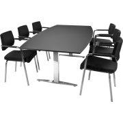 MODERN Basic konferencesæt 220x110/90 cm. linoleum