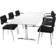 MODERN Basic konferencesæt 220x110/90 cm laminat
