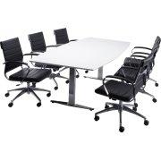 Rico Basic konferencesæt, 220x110/90 cm, laminat