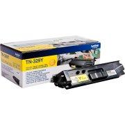 Brother TN329Y Lasertoner, Yellow, 6.000s