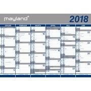 Mayland Kæmpekalender, 2 x 6 mdr.