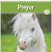Mayland Vægkalender, 12 måneder, Ponyer