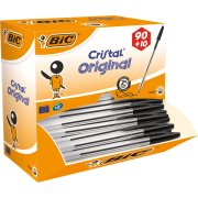 Bic Cristal kuglepen value pack, medium, sort