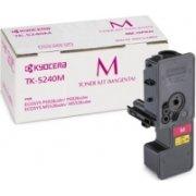 Kyocera TK-5240M lasertoner, magenta, 3000s