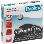 Rapid Super Strong 9/17 Hæfteklammer, 1000 stk.