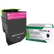 Lexmark 71B2HM0 Magenta tonerkassette, 3500 sider