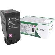 Lexmark 75B20M0 Magenta tonerkassette, 10000 sider