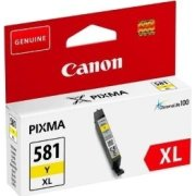 Canon CLI-581XL blækpatron gul, 519s