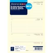 Filofax Refill A5 Uge, 2018