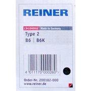 Stempelpude til nummeratør B6K, sort