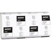 Katrin Basic M2 håndklædeark, 2-lags, hvid