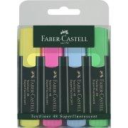 Faber-Castell Textliner, 4 stk.
