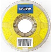 Sculpto 3D PLA filament i gul, 1000 gram