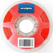 Sculpto 3D PLA filament i rød, 500 gram