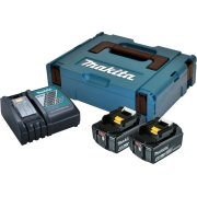 Makita Batteripakke, 2 x BL1840B + DC18RC