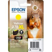 Epson T378 XL blækpatron, gul