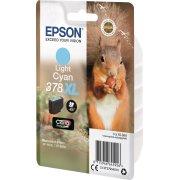 Epson T378 XL blækpatron, lys cyan