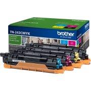 Brother TN243CMYK lasertoner sampak K/C/M/Y, 4000s