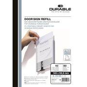 Durable Info Sign Indstik 149x52,5 mm, 10 stk.