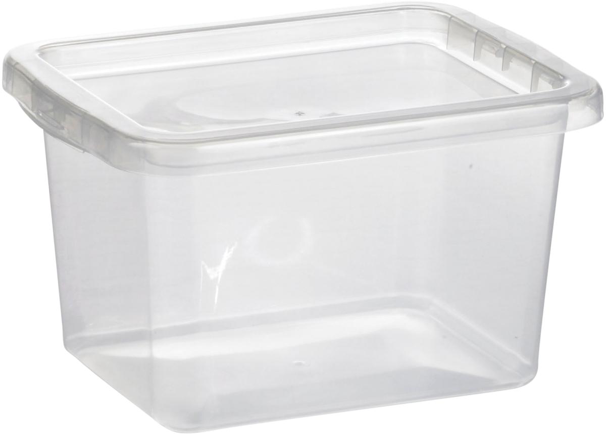 opbevaringskasser i plast med låg