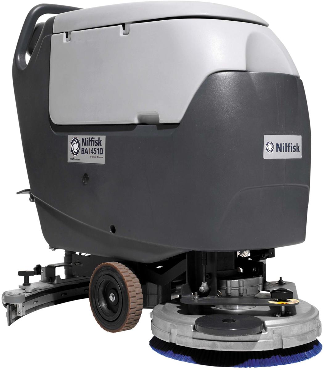 Nilfisk gulvvasker BA 451 D komplet - køb til fast lav pris - Lomax A/S