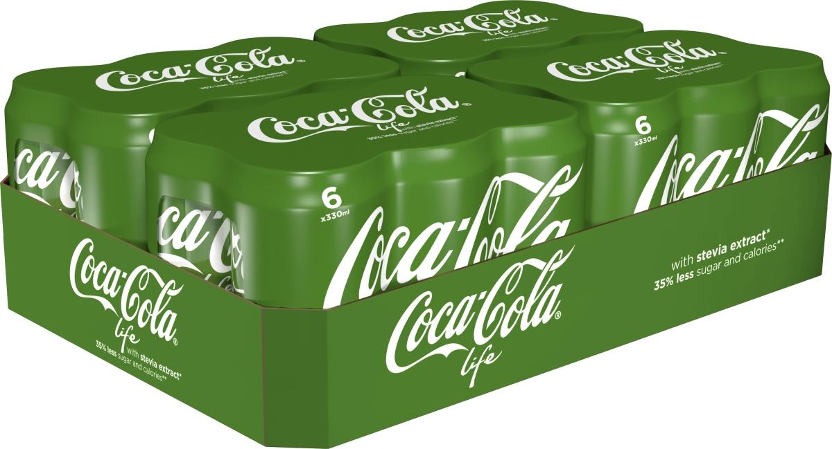 tilbud på dåse coca cola