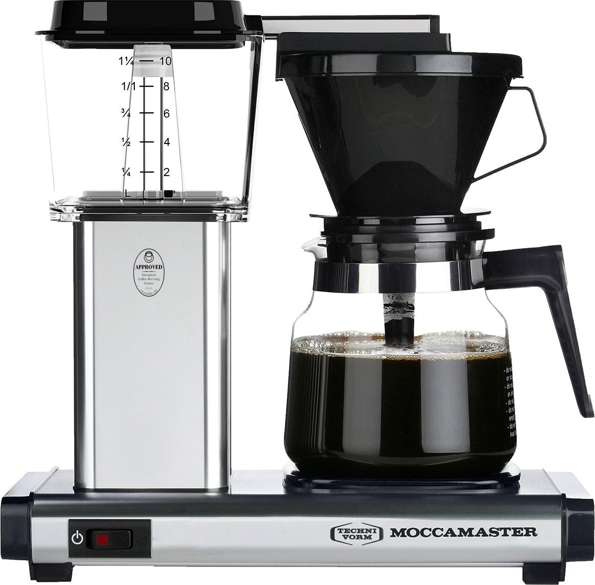 Moccamaster h931 homeline ao kaffemaskine st l k b til - Homeline dekoration ...