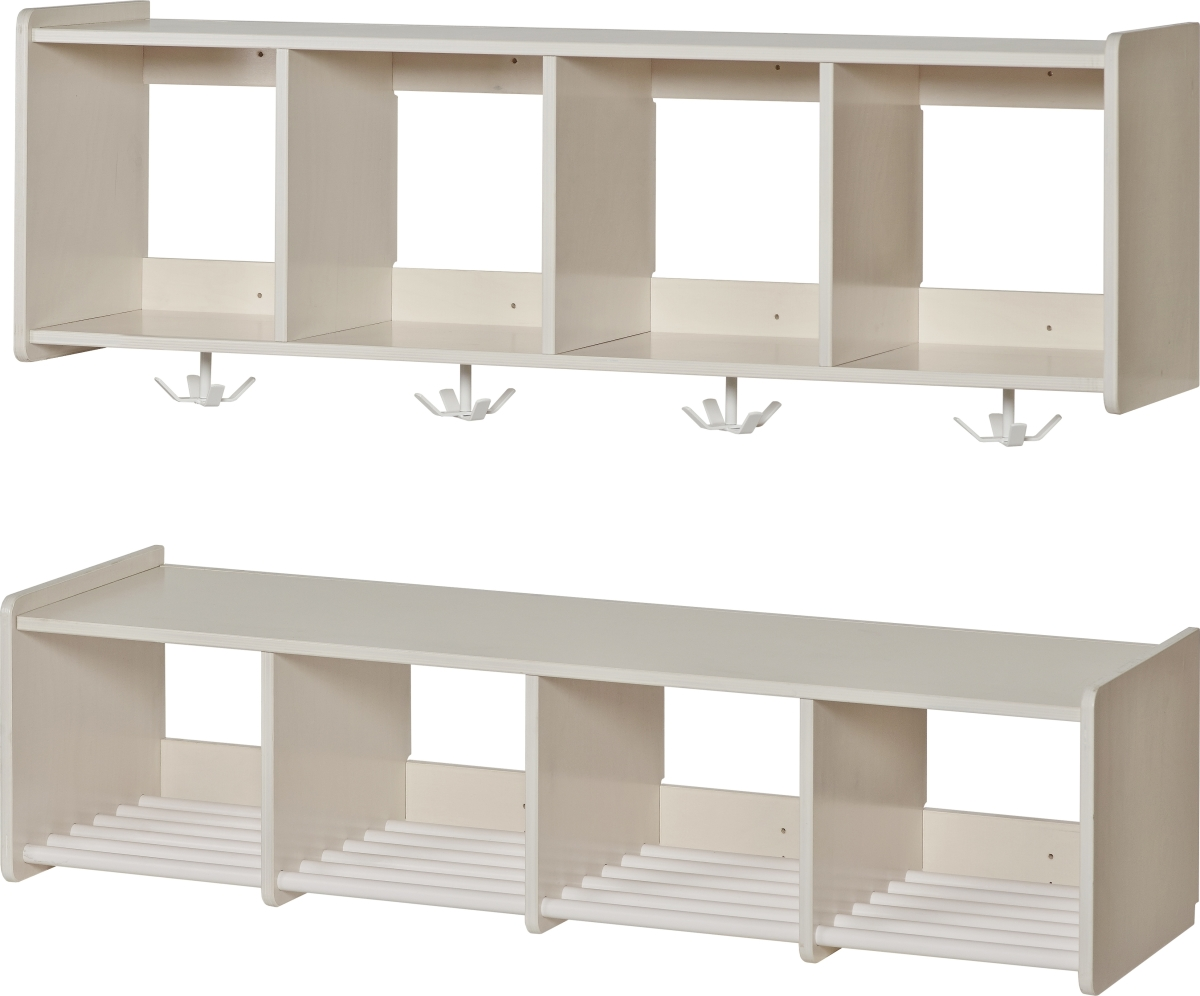 Vall sfo garderobe s t 4 sektioner 28 cm k b til fast for Garderobe 28 cm tief