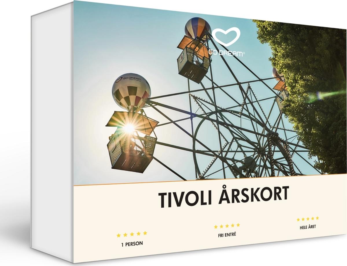 Go Dream Tivoli Årskort - køb til fast lav pris - Lomax A/S