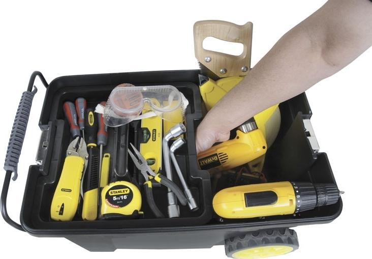Stanley værktøjstrolley inkl. værktøjskasse - køb til fast lav pris - Lomax A/S