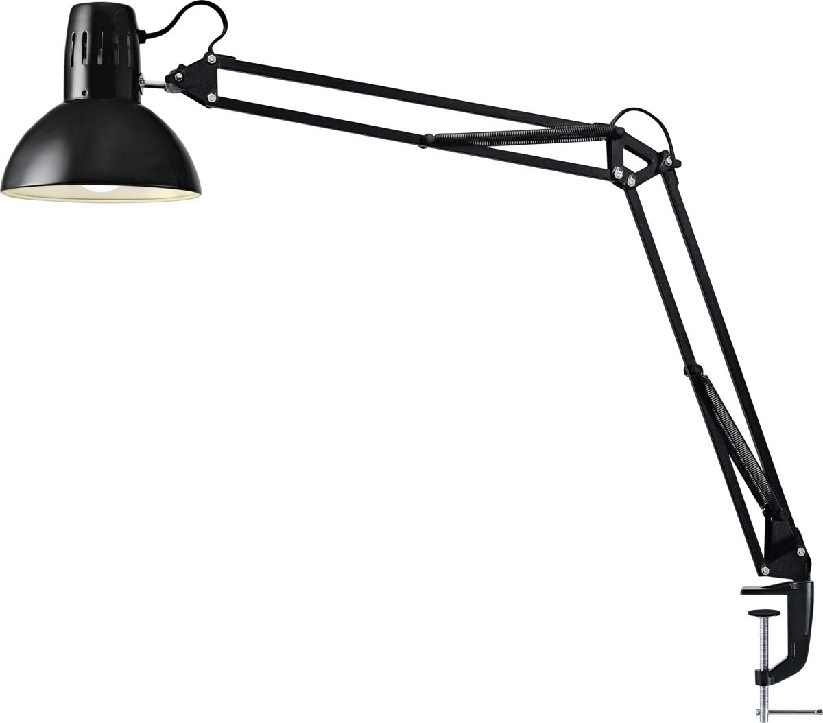 arkitektlampe Manhattan LED Arkitektlampe, sort m/ klemme   køb til fast lav  arkitektlampe