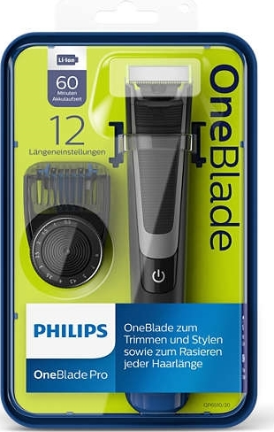 philips qp6510 20 oneblade pro trimmer k b her lomax a s. Black Bedroom Furniture Sets. Home Design Ideas