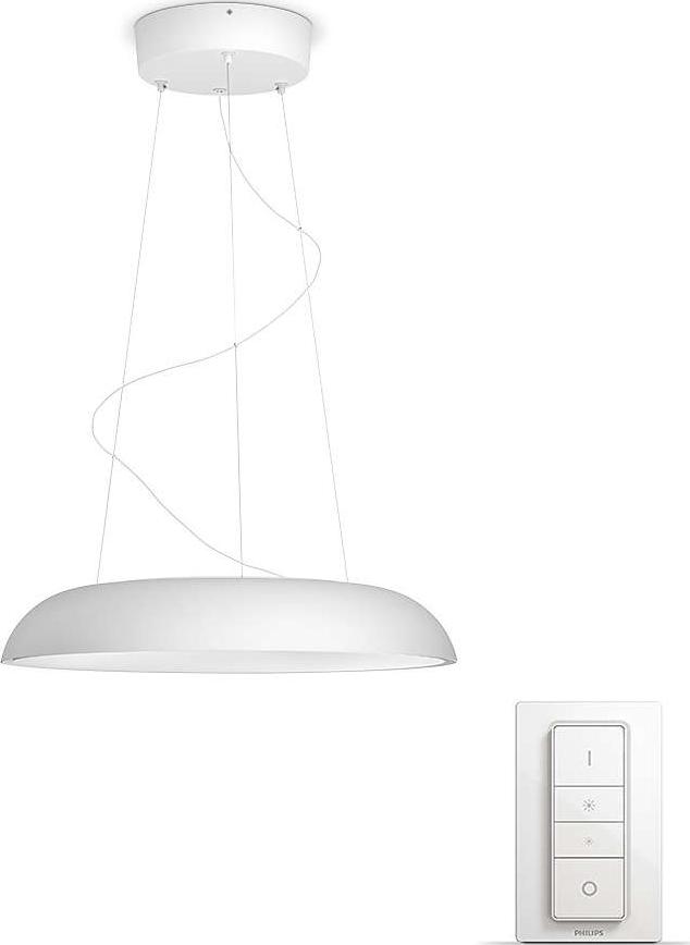 philips hue cher pendel k b hos. Black Bedroom Furniture Sets. Home Design Ideas
