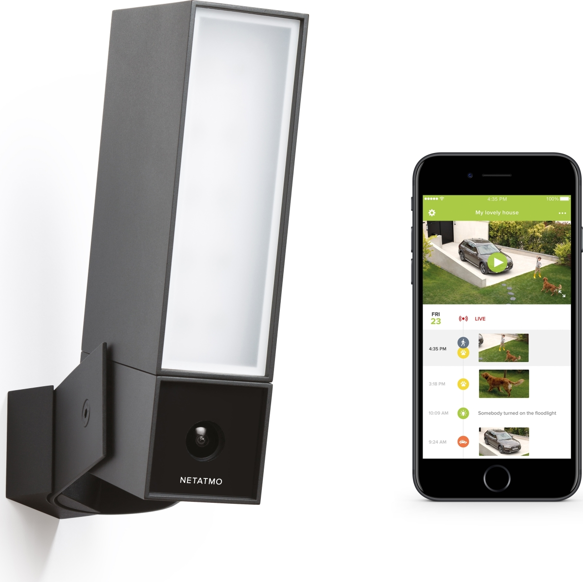 netatmo presence smart home kamera udend rs k b til fast lav pris lomax a s. Black Bedroom Furniture Sets. Home Design Ideas