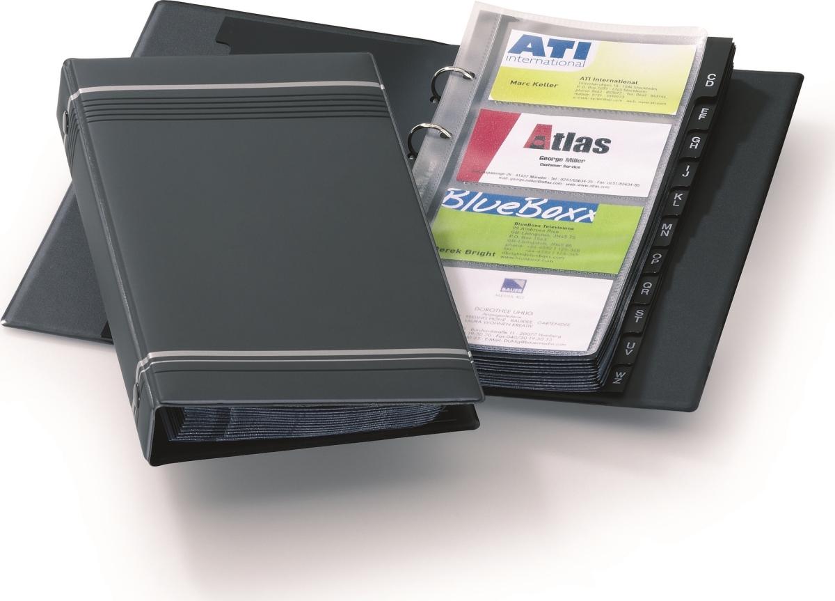 visitkortmappe med index system lomax køb nu